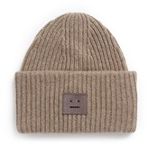 Acne Studios 'Pansy' emoticon patch wool beanie