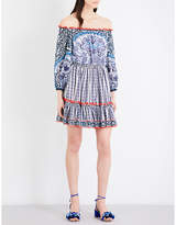 Mary Katrantzou Off-the-shoulder chiffon dress