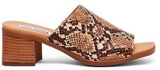 Steve Madden Alessia Snake-Print Mule Sandals