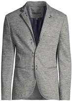 John Varvatos Embellished Slim-Fit Jacket