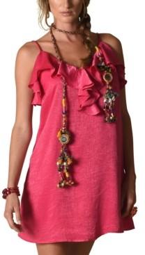 Kindom Evelyn Ruffle Cami Tunic Dress