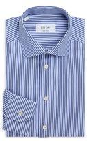 Eton Cotton Striped Dress Shirt