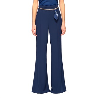 Elisabetta Franchi Trousers With Chain