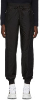 Moncler Black Nylon Lounge Pants