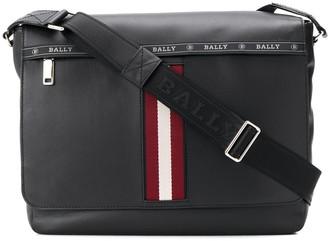 Bally Stripe Detail Oversized Shoulder Bag