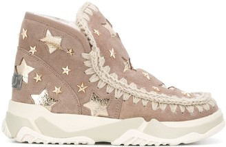 Mou Eskimo star-stud ankle boots