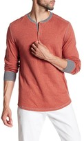 Jack Spade Caine Double Face Stripe Henley