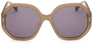 Stella McCartney 56MM Octagon Sunglasses