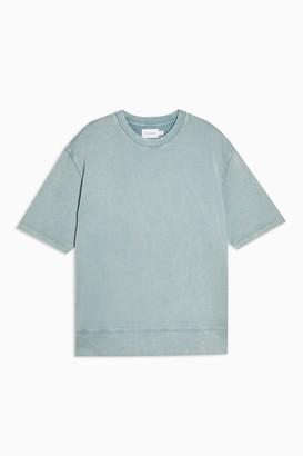 Topman Womens Short Sleeve Sweatshirt - Multi
