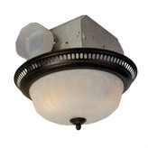 Craftmade Decorative Designer Bath Fan with Light in Oil Rubbed Bronze