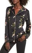 Socialite Women's Floral Pj Shirt