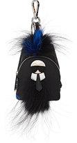 Fendi Men's Karlito Micro-Backpack Bag Charm-BLACK