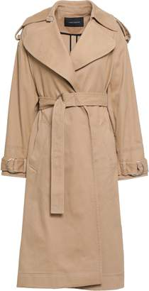 Cédric Charlier Cotton-blend Twill Trench Coat