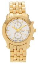 Geneva Platinum Women's Polished Bezel Panther Link Watch