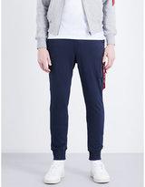 Alpha Industries Branded Tab Cotton-blend Jogging Bottoms