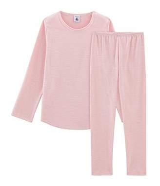 Petit Bateau Girl's Pyjama_43101 Set,(Size: 6Years/centimeters)