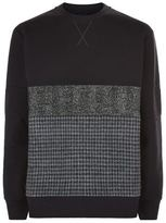 Lanvin Tweed Panel Sweater