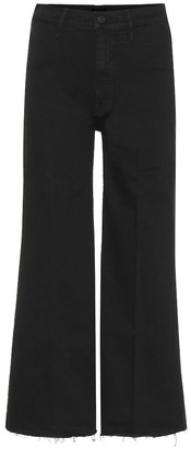 Mother Swooner high-rise wide-leg jeans