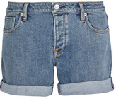 Burberry Stretch-denim Shorts - Mid denim