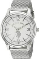 U.S. Polo Assn. Classic Men's Quartz Metal and Alloy Automatic Watch, Color:-Toned (Model: USC80373)