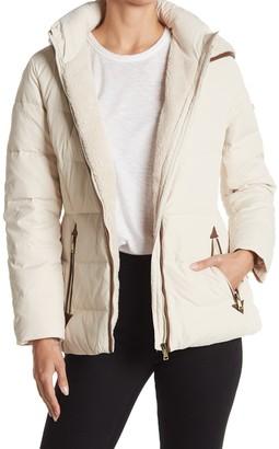 Lauren Ralph Lauren Faux Fur Lined Hooded Down Jacket