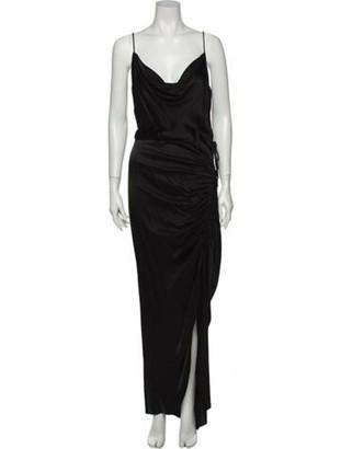 Veronica Beard Cowl Neck Long Dress w/ Tags Black