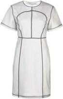 Off-White Off White seam detail T-shirt dress
