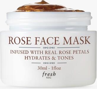 Fresh Rose Face Mask To Go, 30ml