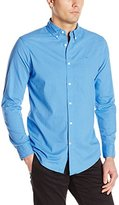 Dockers Long Sleeve Cotton Poplin Printed Dot Men's Shirt