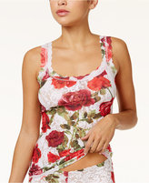 Hanky Panky Rose Red Classic Lace Camisole 3J4256