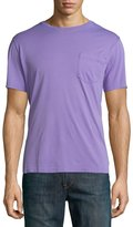 Ralph Lauren Pima Cotton Pocket T-Shirt, Lavender