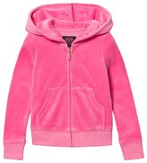 Juicy Couture Hot Pink Velour Scotty Dog Hoodie