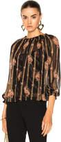 Needle & Thread Victorian Stripe Top