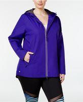 Ideology Plus Size Rain Jacket, Created for Macy's