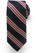 Haggar Extra-Long Striped Wool-Blend Tie - Big & Tall