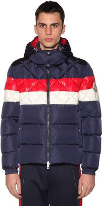 Moncler Janvry Color Block Down Jacket