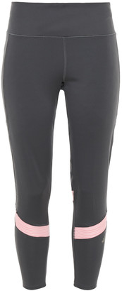 adidas Jacquard-paneled Stretch Leggings