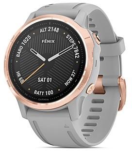 Garmin Fenix 6S Silicone Strap Smartwatch, 42mm