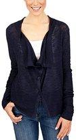 Lucky Brand Women's Linen Drape Cardigan