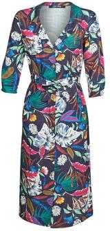 One Step RAZIELLA women's Long Dress in Multicolour