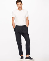 Jigsaw Bloomsbury Italian Pinstripe Slim Fit Trouser
