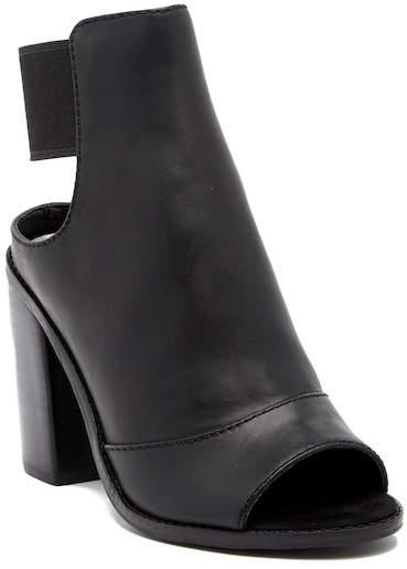 Dolce Vita Lauri Open Toe Leather Bootie