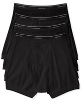 Jockey Men's Classic Collection Tagless Boxer Briefs 4-Pack