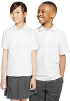 Marks and Spencer 2 Pack Unisex Pure Cotton Polo Shirts