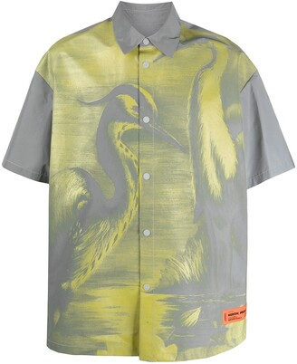 Heron Preston Printed Short-Sleeved Shirt