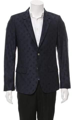 Alexander McQueen Two-Button Wool Blazer