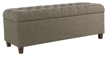 Miraculous Macalester Tufted Storage Bench Multiple Colors Dailytribune Chair Design For Home Dailytribuneorg