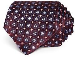 Eton Floral Diamond Silk Classic Tie