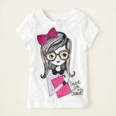 Children's Place Smart girl graphic tee