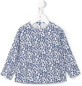 Il Gufo floral print blouse